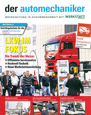 Der Automechaniker - Cover