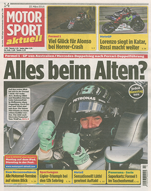 Motorsport akutell - Cover